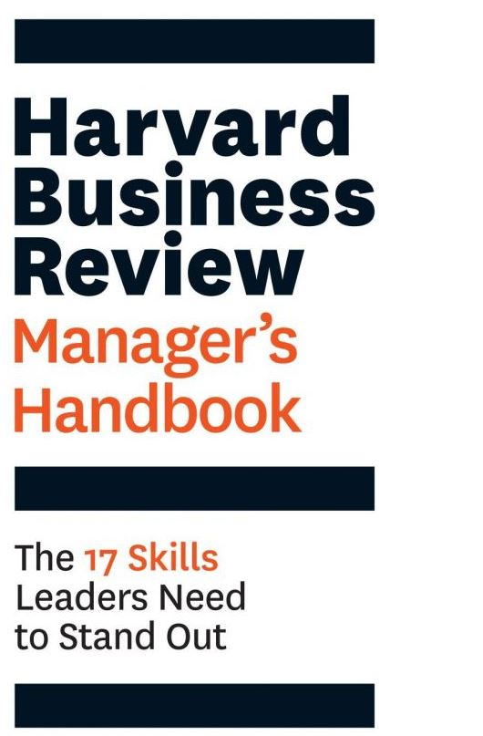 The Harvard Business Review Manager's Handbook PDF