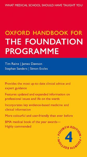 Oxford Handbook for the Foundation Programme 4th Edition