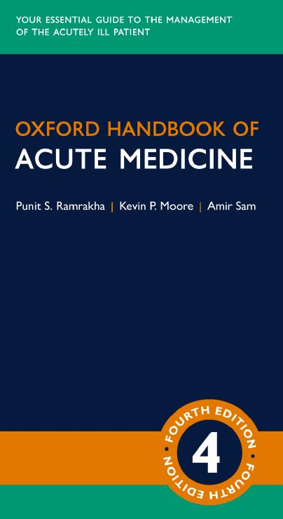 Oxford Handbook of Acute Medicine 4th Edition