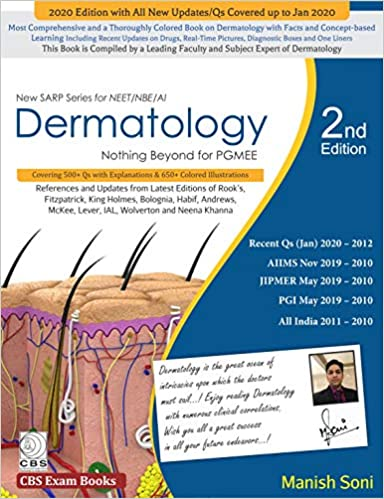 New Sarp Series For Neet Nbe Ai Dermatology Nothing Beyond For Pgmee 2nd Edition PDF