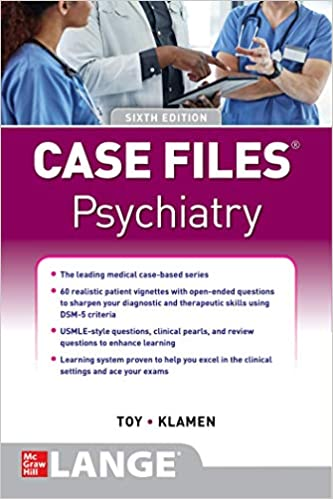 Case Files Psychiatry 6th Edition PDF