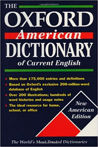 The Oxford American Dictionary of Current English PDF