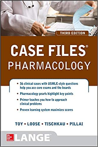Case Files Pharmacology 3rd Edition PDF