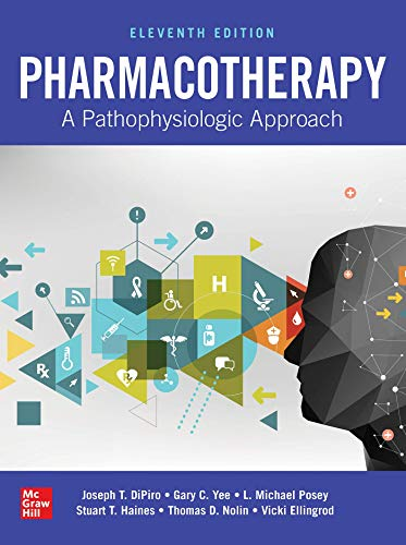 Pharmacotherapy: A Pathophysiologic Approach 11th Edition PDF