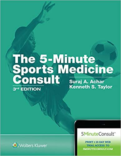 The 5-Minute Sports Medicine Consult 3rd Edition PDF